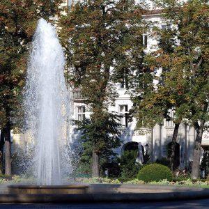 Viktoria-Luise-Platz vor dem LETTE VEREIN BERLIN