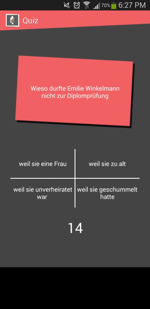 Lette Quest für Stiftung Stadtmuseum