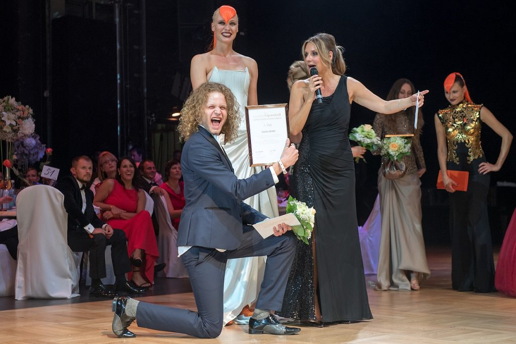 Leipziger Opernball  - Gewinner Sascha Johrden, Meisterklasse Lette Verein