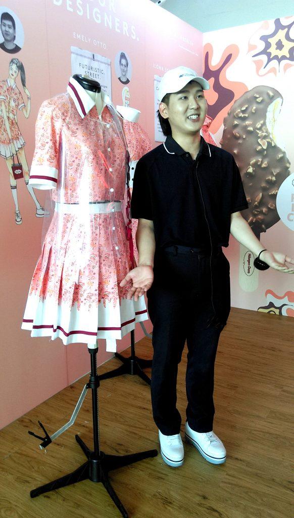 Häagen Dazs goes Fashion with Lette