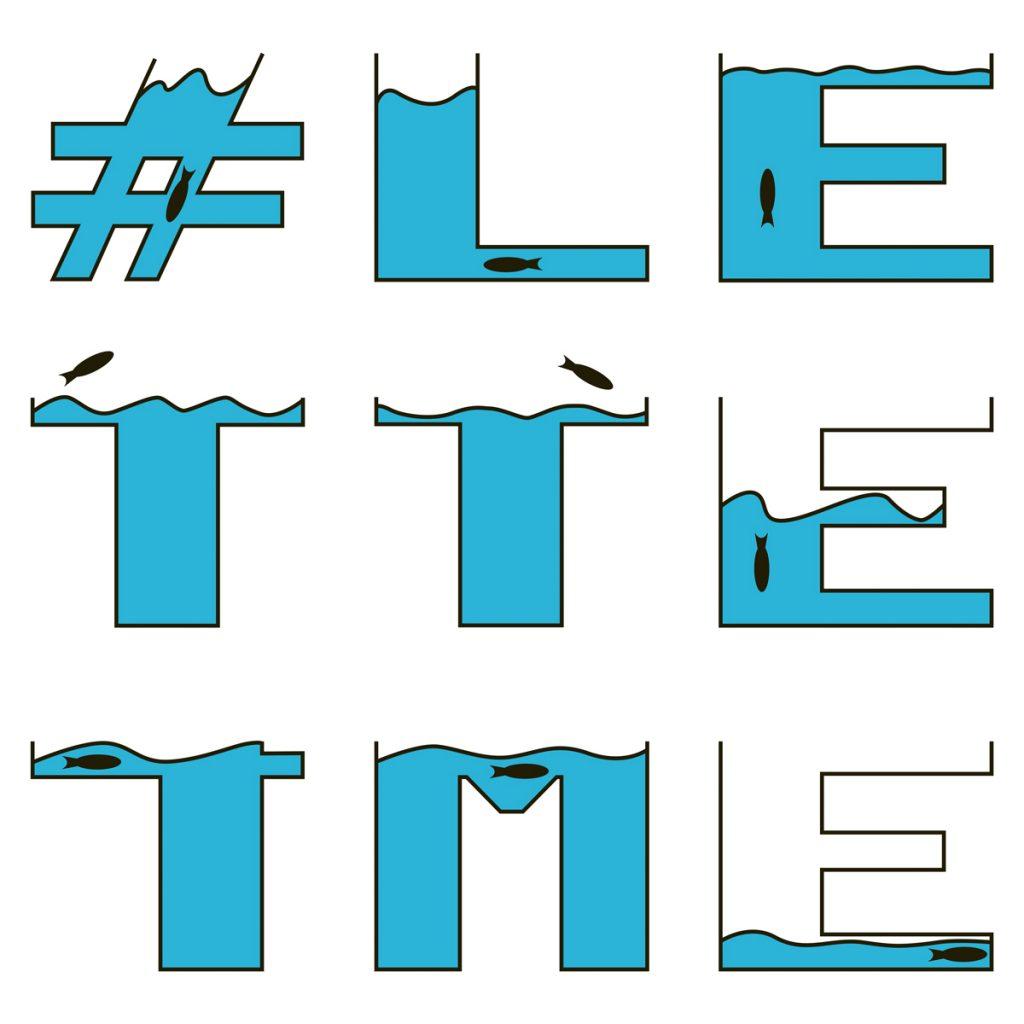 Unterrichtsprojekt Grafikdesign #lette4me