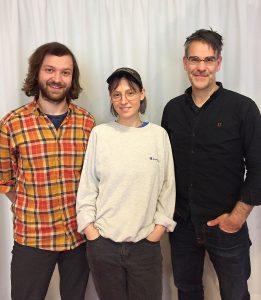 v.l. Johannes Zillner, Virginia Bartocha, Prof. Ralf Kemmer