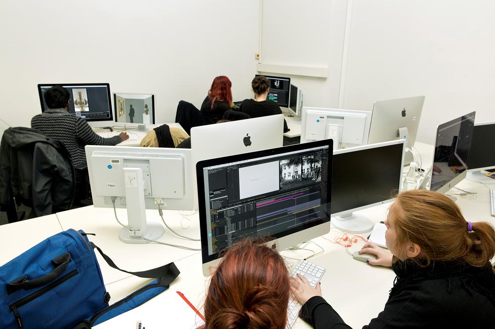 Ausstattung Medieninformatik | Interaktive Animation, Lette Verein Berlin