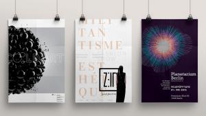 Plakatgestaltung - Grafikdesign im LETTE VEREIN BERLIN