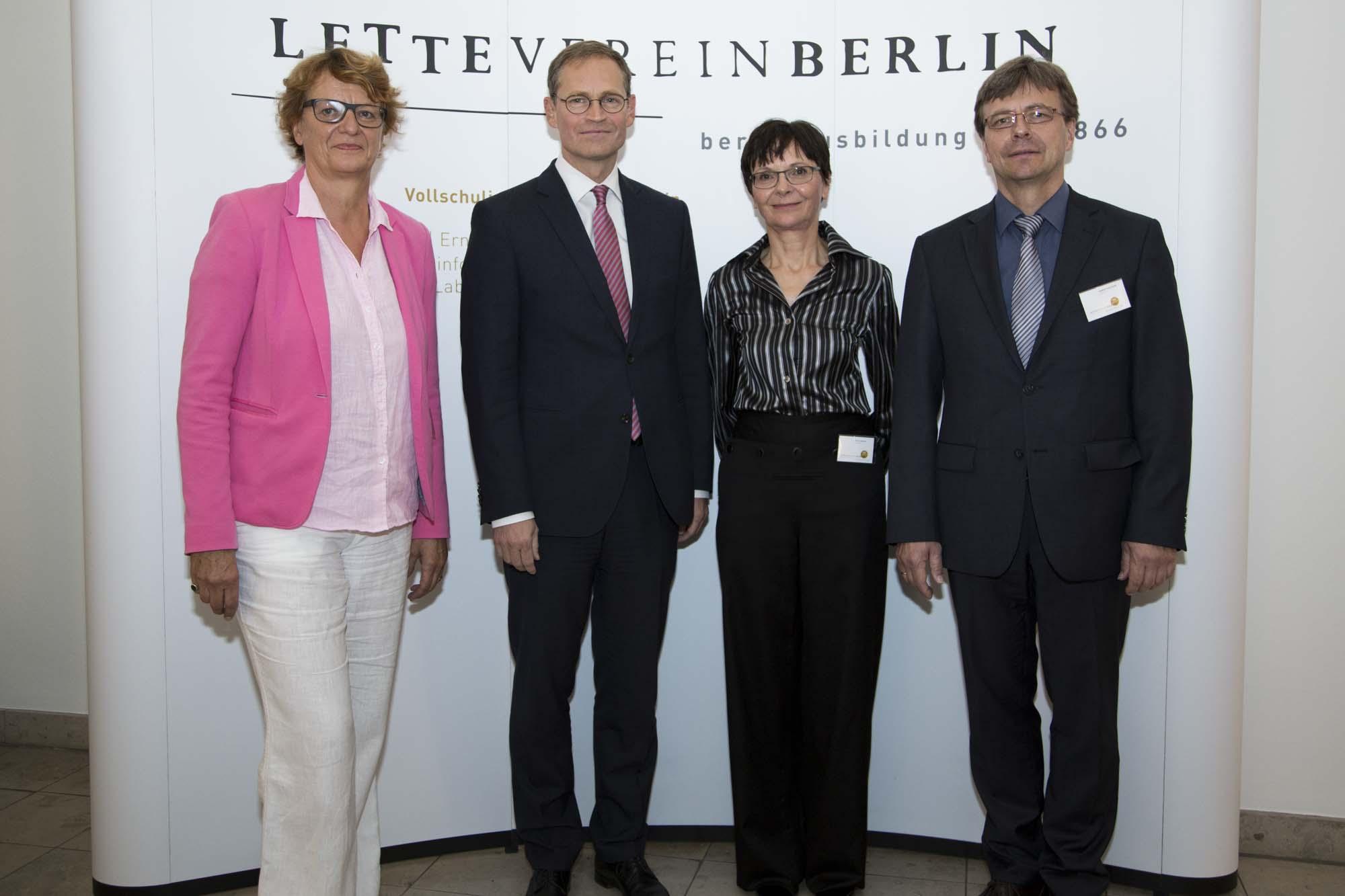 Festakt 150 Jahre Lette Verein Berlin
