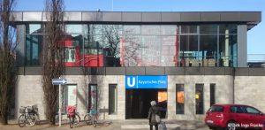 Foto vom U-Bahnhof bayerischerplatz von Dirk Ingo Franke