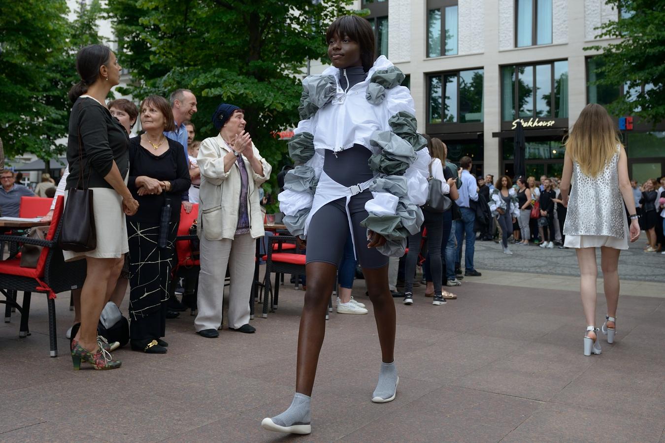 Abschlusspräsentation Modedesign Lette Verein Berlin 2017