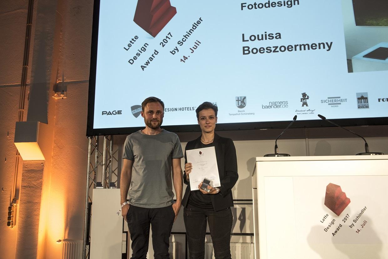 Gewinner*innen Lette Design Award by Schindler 2017