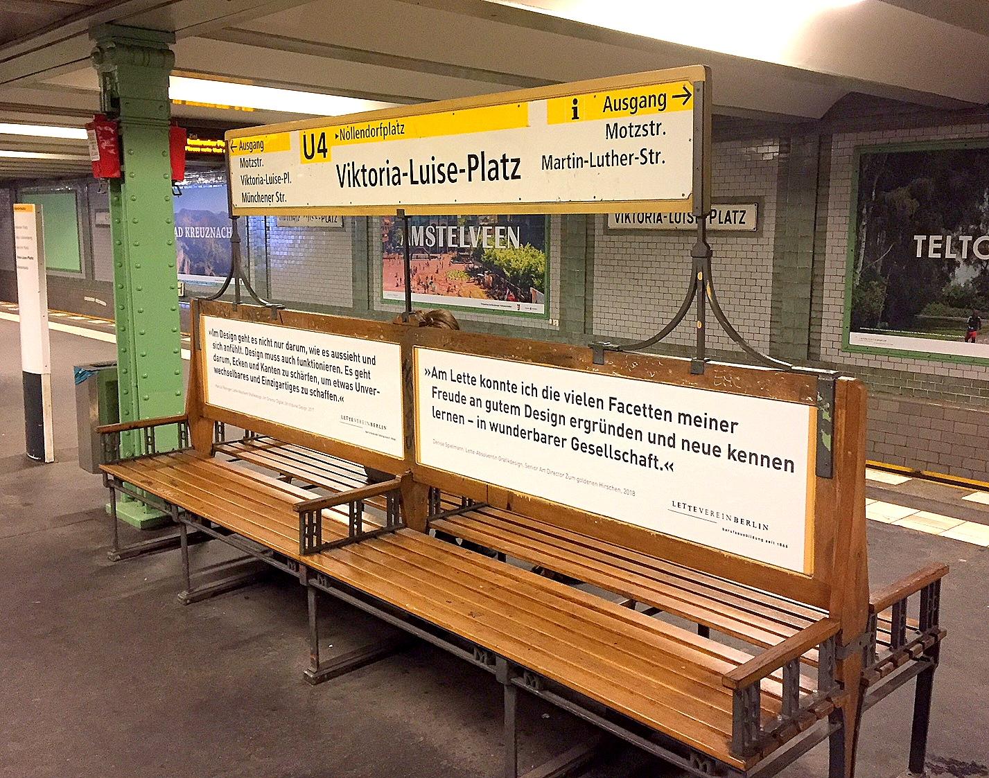 U-Bahnhof Viktoria-Luise-Platz