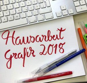 Die Hausaufgabe Ausbildung Grafikdesign ist online