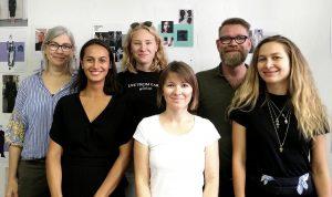 vlnr: Stefanie Bieker, Djuna Reiner, Linda Siegel, Natalie Schramke, Jochen Pahnke, Kristina Kerbs