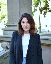 Modedesign-Schülerin Jennifer Lalli in Brescia/Italien