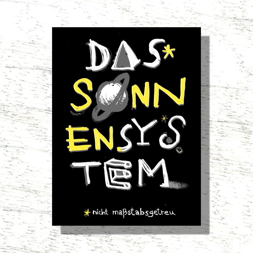 »Das Sonnensystem«, ein Buch über eine nicht maßstabgetreue Reise zur Erde