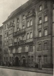 Wohnhaus des Lette Vereins, in dem Alice Rother wohnte. Neue Bayreuther Straße, heute Welserstraße 5.