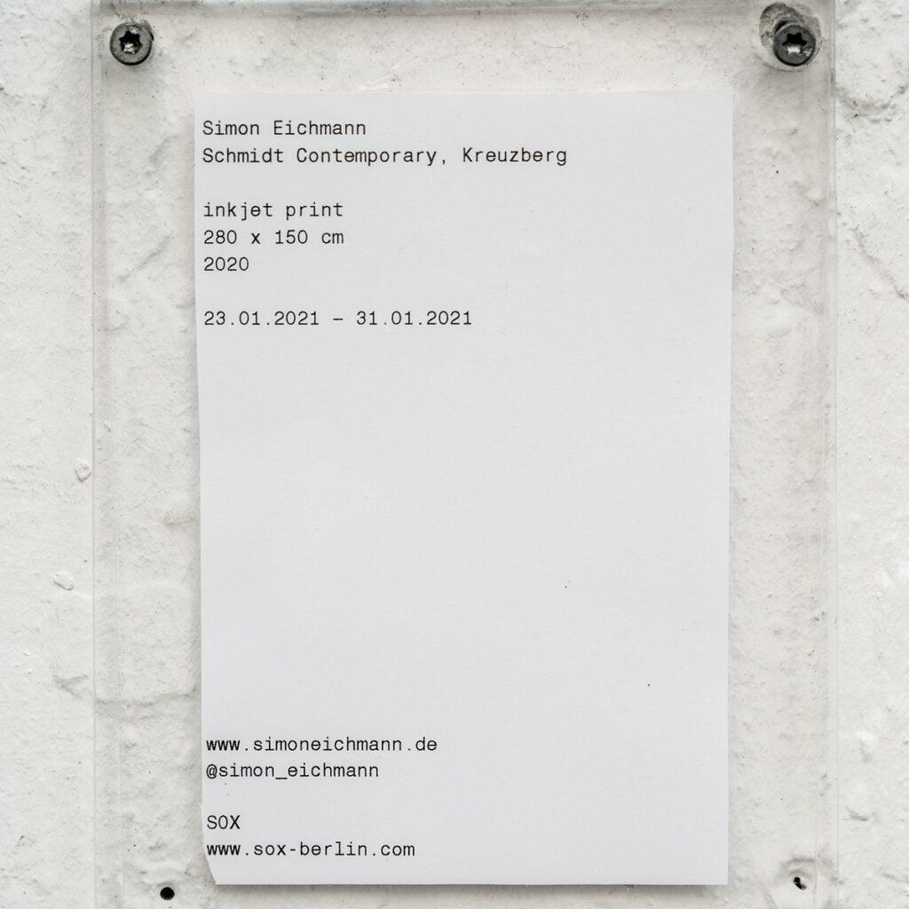 "Simon Eichmann ""Kreuzberg"""